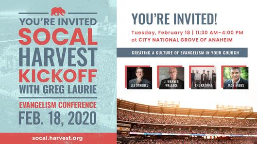 SoCal Harvest 2020 Evangelism Conference image