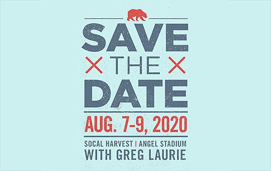 Save the Date for the Socal Harvest 2020